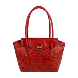 Sb Gisele 01 Handbag, croco,  red