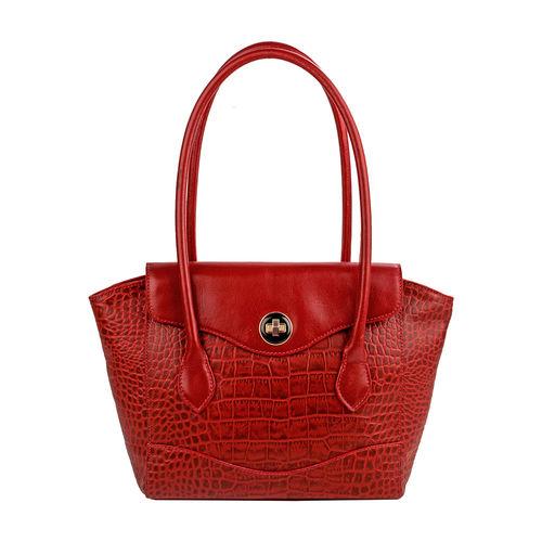 Sb Gisele 01 Handbag, croco,  red
