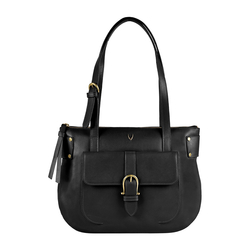 AL CAPONE 03 WOMEN'S HANDBAG SOHO,  black