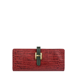 Ee Harper W2 Women's Wallet Croco,  red