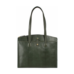 Hongkong 01 Sb Women's Handbag Snake,  emerald green