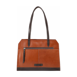 EDGE 01 WOMEN'S SHOULDER BAG SOHO,  brown