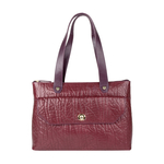 Paloma 01 Women s Handbag, Elephant Melbourne Ranch,  aubergine