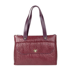 Paloma 01 Women's Handbag, Elephant Melbourne Ranch,  aubergine