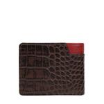 311 36 Sb (Rfid) Men s Wallet Croco,  brown