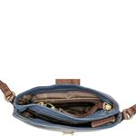 Sb Silvia 03 Women s Handbag Thick Lamb,  midnight blue