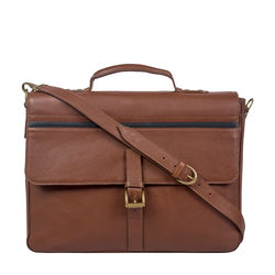 Sigmund 04 Brief Case, Regular,  tan