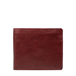 L107 (Rf) Men's wallet,  red