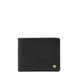 36 02 Sb (Rfid) Men's Wallet Manhattan,  black