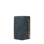 CHARLESTON W1 (RFID) WOMEN S WALLET BABY CROCO,  midnight blue