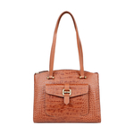 LOTUS 02 SB WOMENS HANDBAG CROCO,  tan