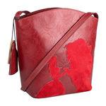 Rose 03 Handbag,  red