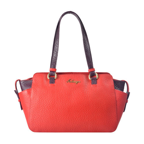 Sb Olivia 01 Women s Handbag, Cow Peb Snake,  red