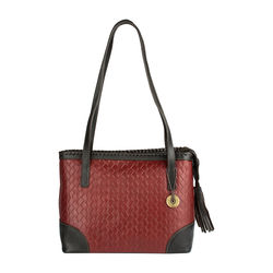 Ara 03 Women's Handbag, Woven Melbourne Ranch,  red