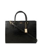 Kester Women s Handbag, Croco,  black