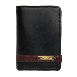 259-Tf Men's wallet,  black, soho