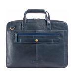 Socrates 01 Brief Case, E. I. Goat,  midnight blue