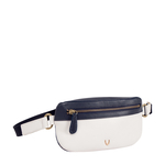 HIDESIGN X KALKI GYPSY 01 BELT BAG RANCH,  white
