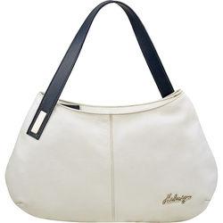 Opal 01 Women's Handbag, Cowdeer Ranch,  white