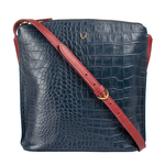 Scorpio 03 Sb Women s Handbag Croco,  midnight blue