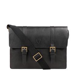 EE EDEN 01 MESSENGER BAG REGULAR PRINTED,  black