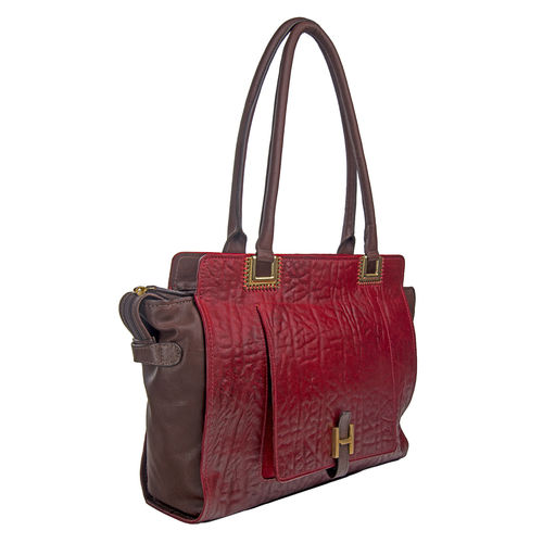 Amore 02 Handbag, elephant,  red