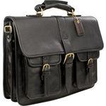 Castello Briefcase,  black, ranchero