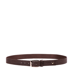 Ee Lewis Men's Belt Glazed, 34,  brown