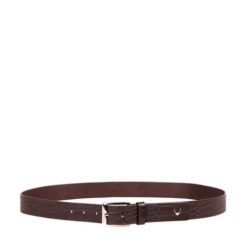 Ee Lewis Men s Belt Glazed, 38,  brown