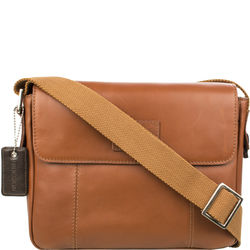 Stephenson 03 Messenger bag,  tan, soho
