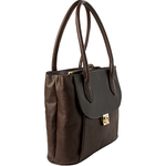 Tabit 01 Women s Handbag, Lizard Melbourne Ranch,  brown