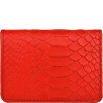 20 Men s Wallet, Snake,  red