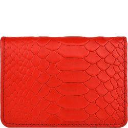 20 Men's Wallet, Snake,  red