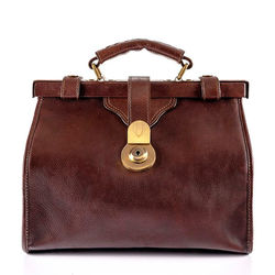 Grazia Satchel,  brown, soweto