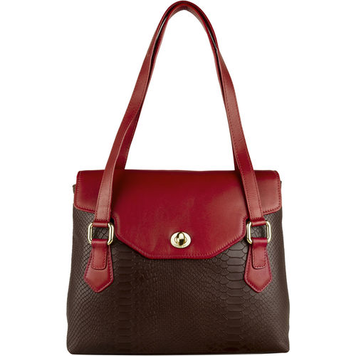 Ginza 02 Handbag,  brown, ranch