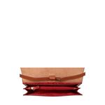 MOTOR W1(RFID) SLING BAG WAXED SPLIT,  red