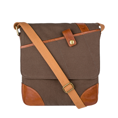 Cherokee 03 Men s Cross Body, Canvas E. I Goat,  desert palm
