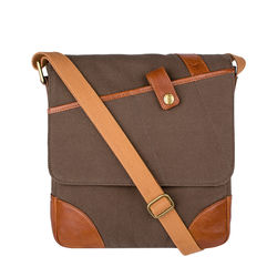 Cherokee 03 Men's Cross Body, Canvas E. I Goat,  desert palm