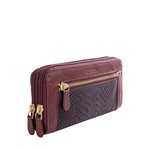 Libra W2 Sb (Rfid) Women s Wallet Ostrich,  marsala