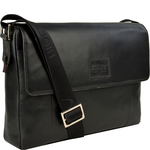 Stephenson 03 Men s Messanger Bag, Soho,  black
