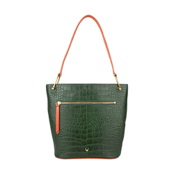 JUPITER 01 SB WOMEN'S HANDBAG CROCO,  emerald green