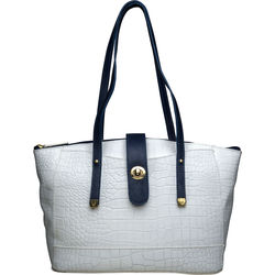 Sb Atria 02 Women's Handbag Cement Croco,  white