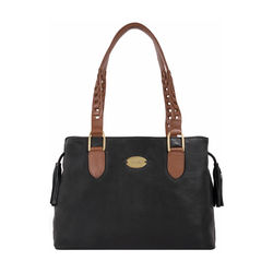 Tiramisu 02 Women's Handbag, Lamb,  black