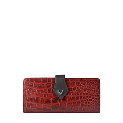 SCORPIO W1 SB (RF) WOMEN'S WALLETS CROCO,  red