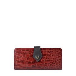 Scorpio W1 Sb (Rf) Women's Wallet, Croco Melbourne Ranch,  red