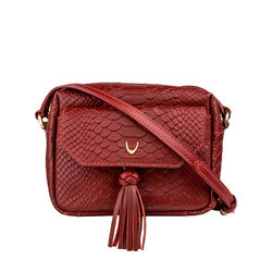 Mb Ellie Sling bag, snake,  red