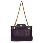 Sb Aliya 01 Women s Handbag, Snake,  aubergine
