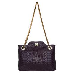 Sb Aliya 01 Women's Handbag, Snake,  aubergine