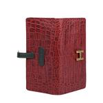 Ee Harper W2 Women s Wallet Croco,  red
