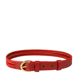 Florence Women's Belt, Ranchero, Free Size,  red